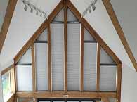 duette shaped blinds