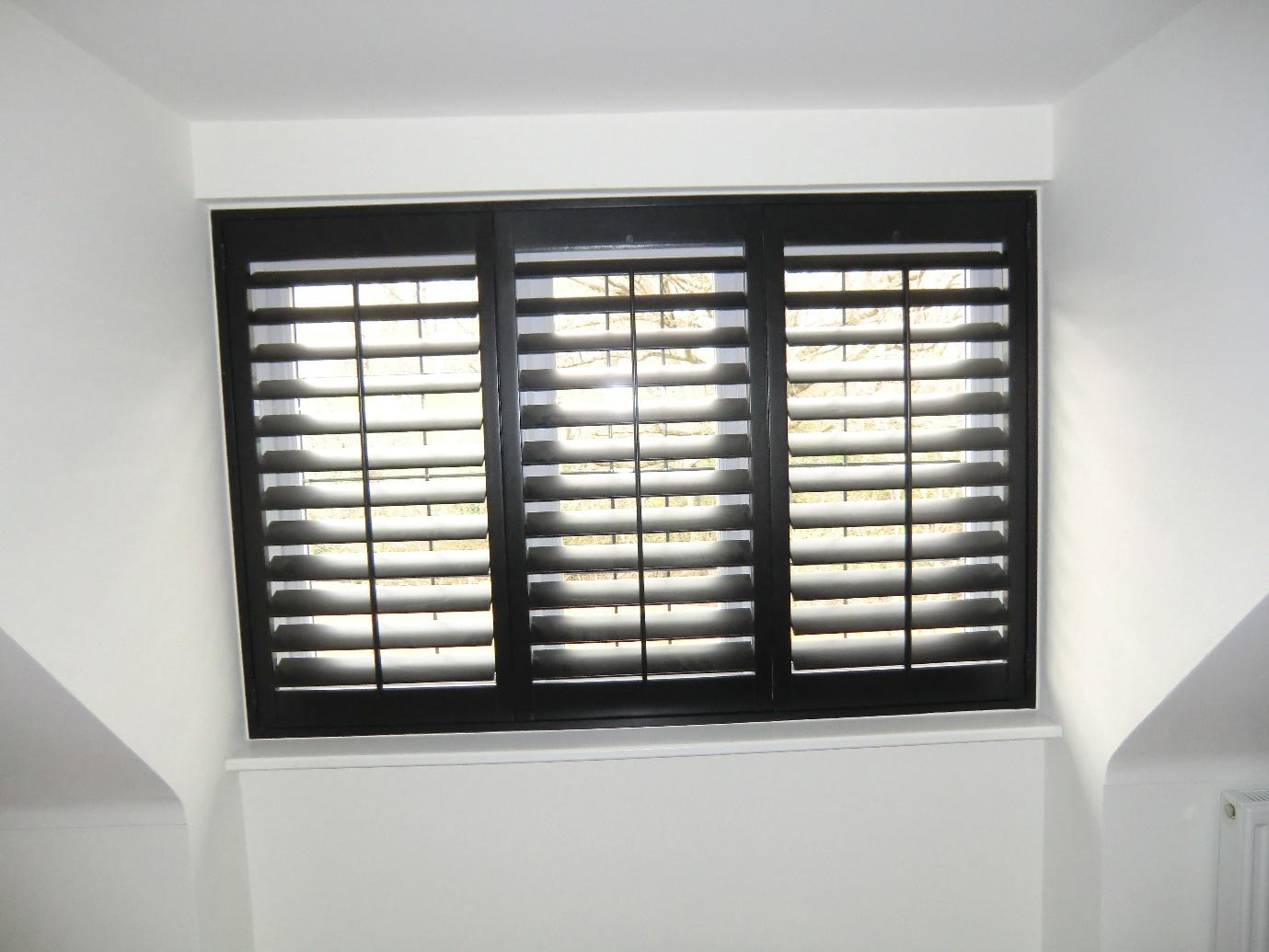 shutters black colour