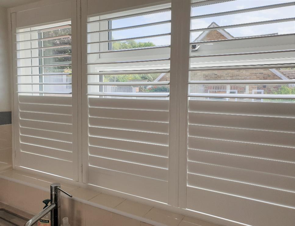 shutters in kitchen waterproof