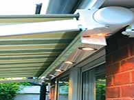 awnings with lights remote control