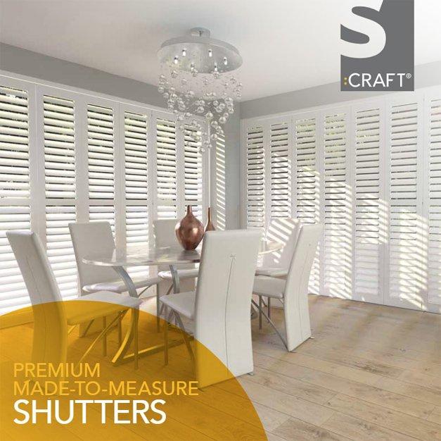 s craft plantation shutters