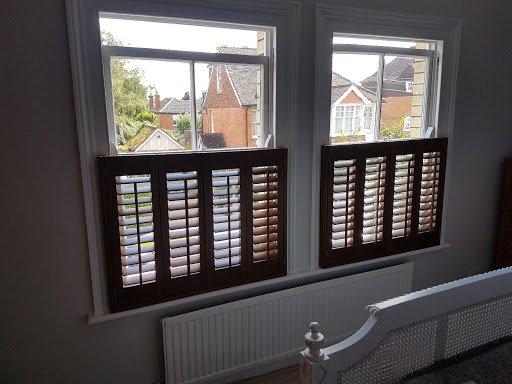 half window shutters