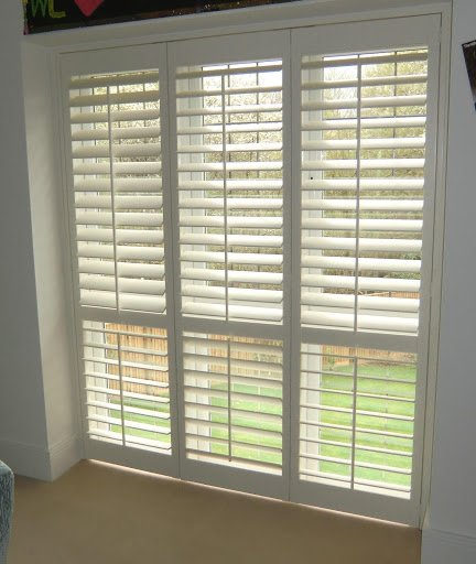 full height plantation shutter