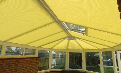 luxaflex duette roof blinds motorised