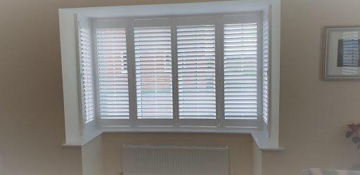 shutters angled bay window mdf