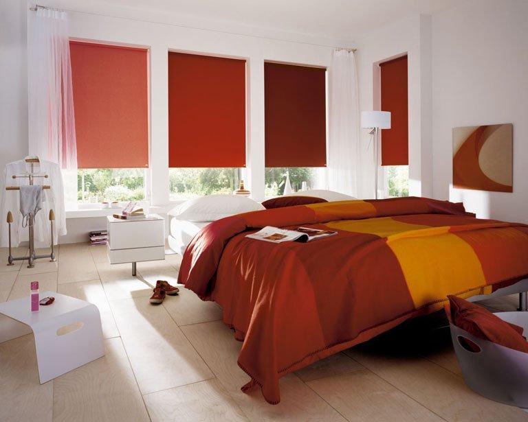 roller blinds colours